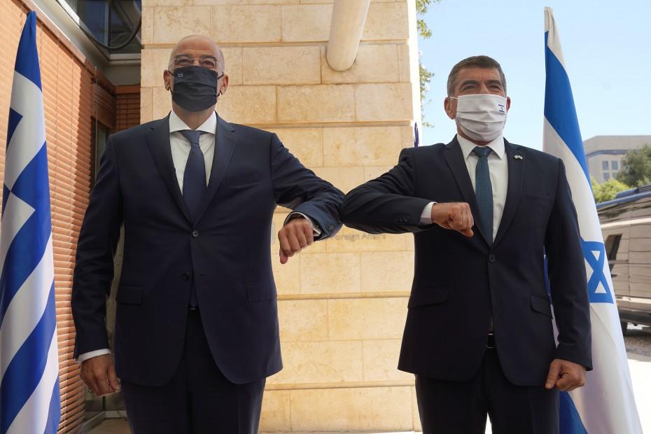 Σε θερμό κλίμα η επίσκεψη του Δένδια στο Ισραήλ