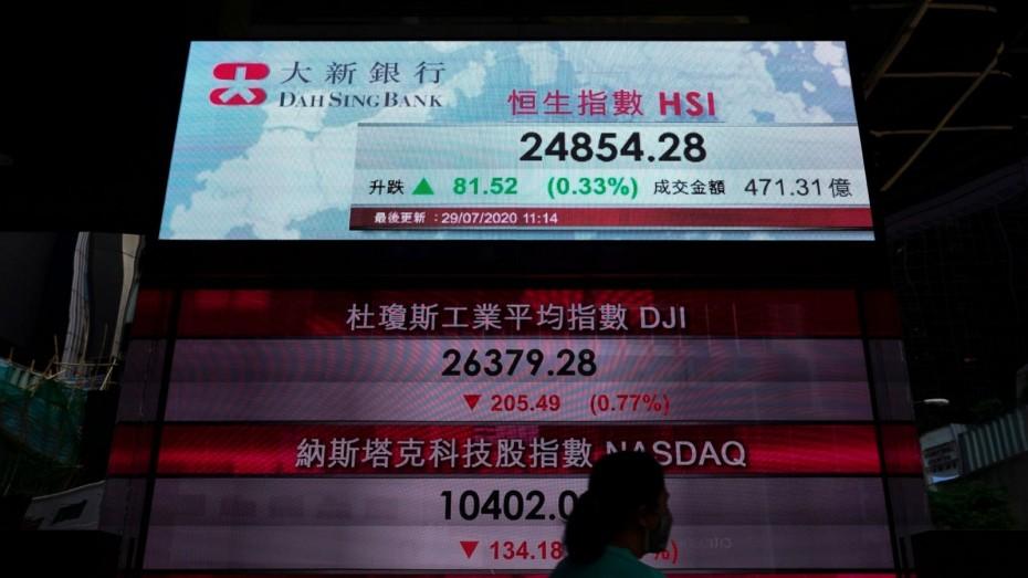 Ανησυχία στα ασιατικά χρηματιστήρια την Τετάρτη