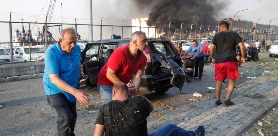 Στους 5 οι Έλληνες τραυματίες στη Βηρυτό, οι 2 σε κρίσιμη κατάσταση