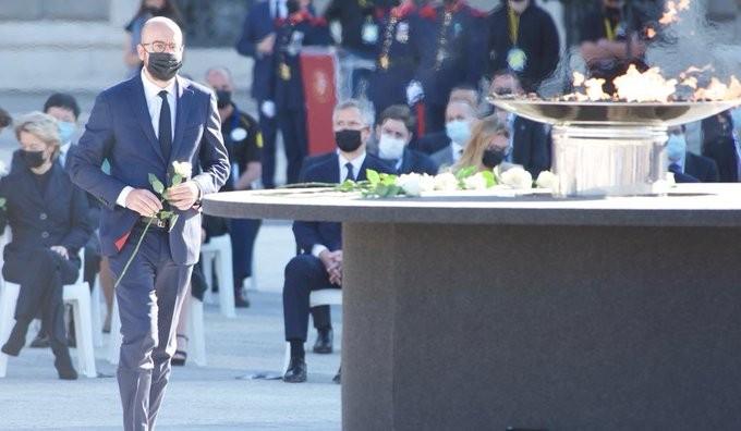 Επικοινωνία Σαρλ Μισέλ με τον πρόεδρο του Λιβάνου