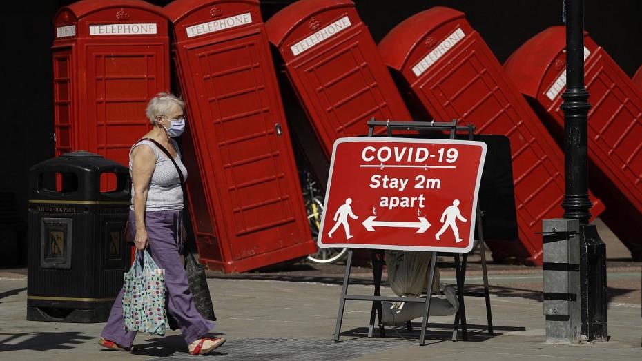 Πάνω από το 20% η ύφεση του βρετανικού ΑΕΠ στο β' τρίμηνο του 2020