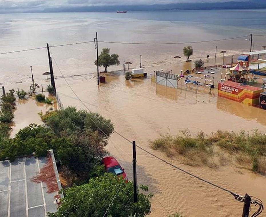 Ένα βρέφος 8 μηνών το τρίτο θύμα από τις πλημμύρες στην Εύβοια