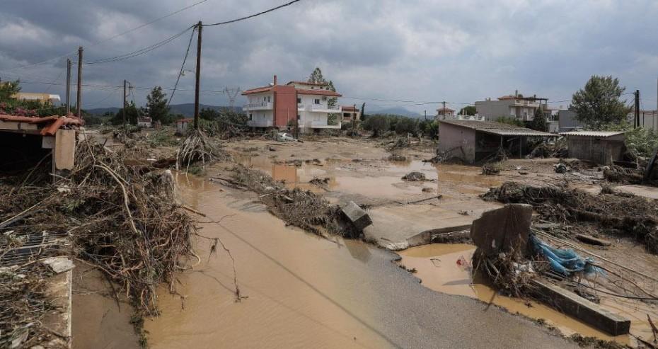 Πλημμύρες στην Εύβοια: 5 οι νεκροί και 1 αγνοούμενος