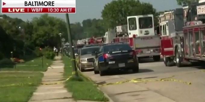 Μεγάλη έκρηξη στη Βαλτιμόρη των ΗΠΑ - Τουλάχιστον 5 τραυματίες