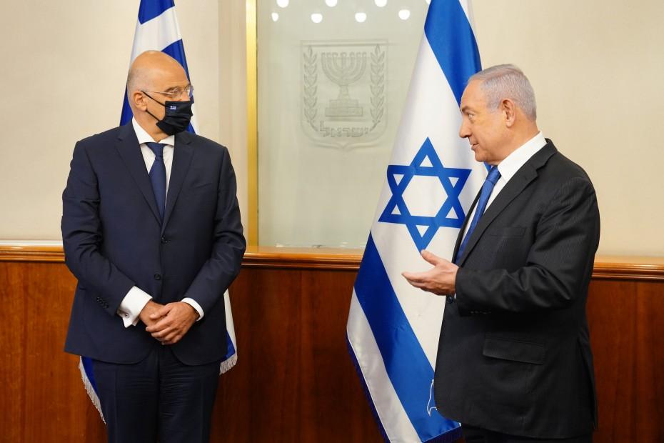 Δένδιας από Ισραήλ: Κίνδυνος για όλους η τουρκική παραβατικότητα