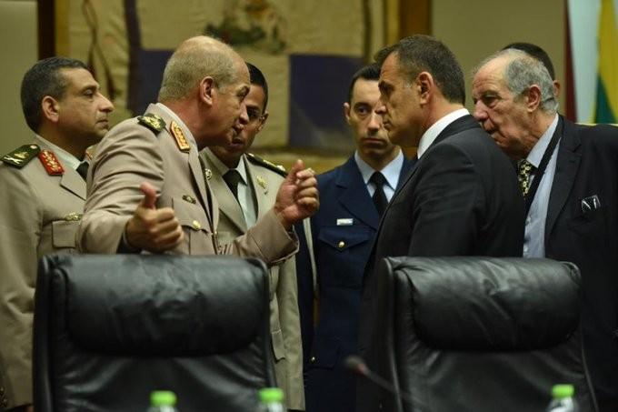 Επικοινωνία Παναγιωτόπουλου με τον υπουργό Άμυνας της Αιγύπτου