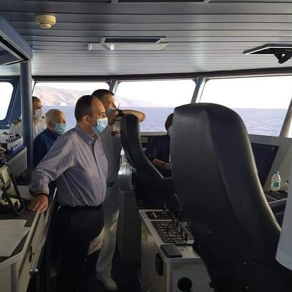 Ο Πλακιωτάκης ζητά αυστηρή τήρηση των μέτρων κατά του κορονοϊού στα πλοία