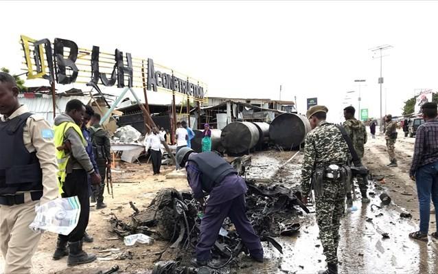 Τουλάχιστον 8 νεκροί και 14 τραυματίες από έκρηξη στο Μογκαντίσου της Σομαλίας