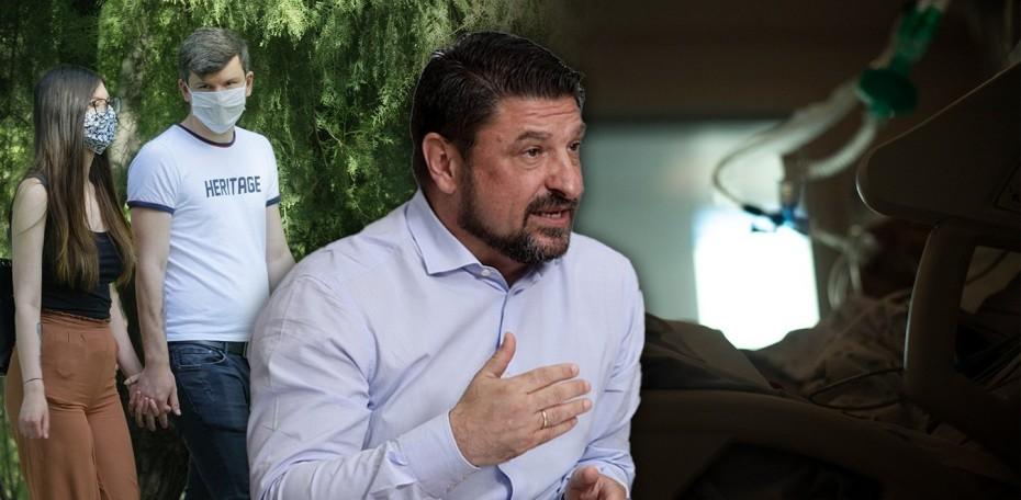 Νέα μέτρα για τον περιορισμό του κορονοϊού ανακοίνωσε ο Χαρδαλιάς