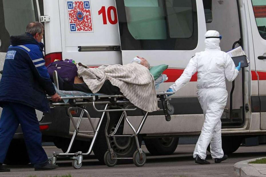 Πάνω από 1.10 εκατ. τα κρούσματα του κορονοϊού στη Ρωσία