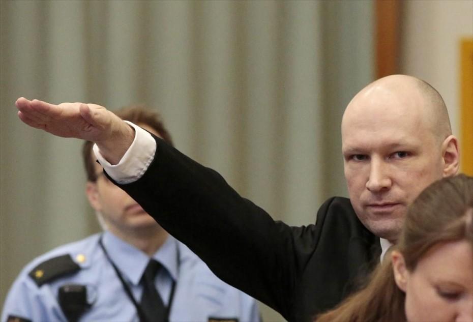 Νορβηγία: Ο ακροδεξιός μακελάρης του Όσλο αιτήθηκε την αποφυλάκισή του