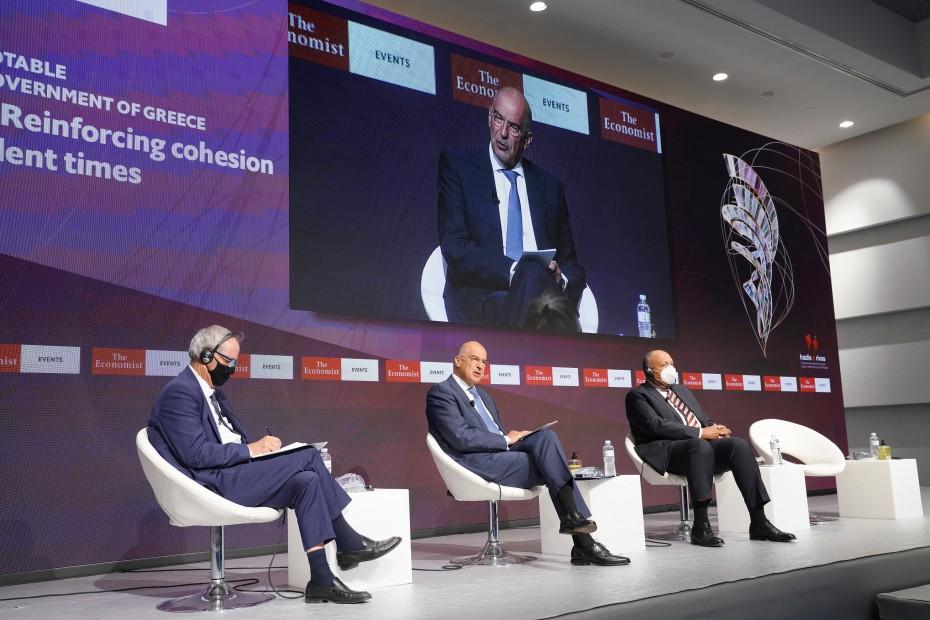 Δένδιας: Η Ελλάδα δεν συζητά με την Τουρκία υπό την απειλή όπλων