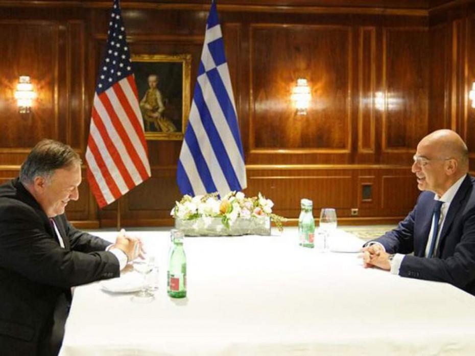 Τη Δευτέρα η συνάντηση Δένδια με τον Αμερικανό ΥΠΕΞ στη Θεσσαλονίκη