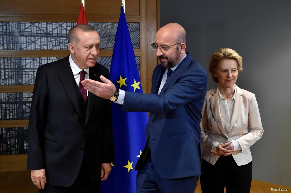 Επιστολή Ερντογάν στους ηγέτες της ΕΕ εν όψει της Συνόδου Κορυφής