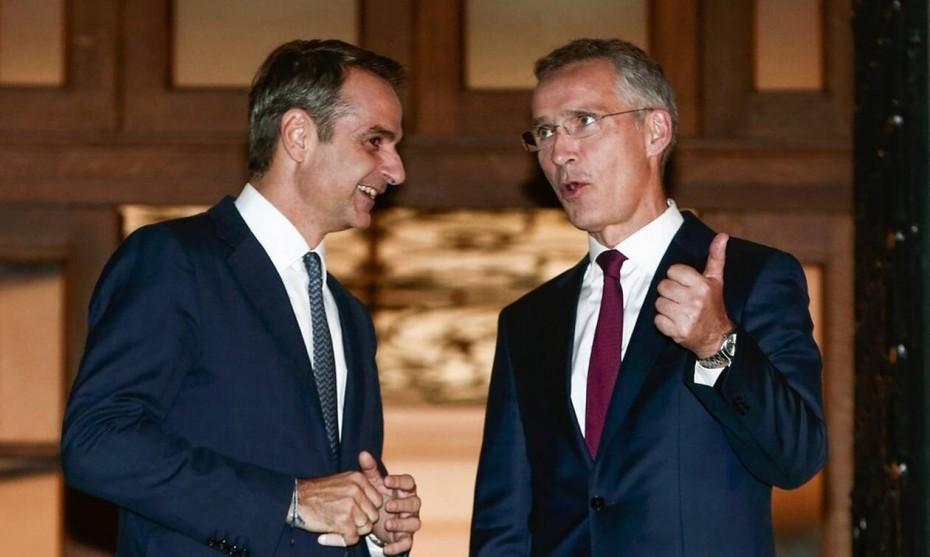Επικοινωνία Μητσοτάκη με τον επικεφαλής του NATO για τα ελληνοτουρκικά