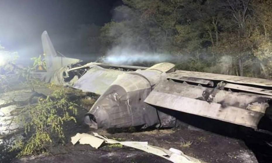 Τραγωδία με συντριβή στρατιωτικού αεροσκάφους στην Ουκρανία