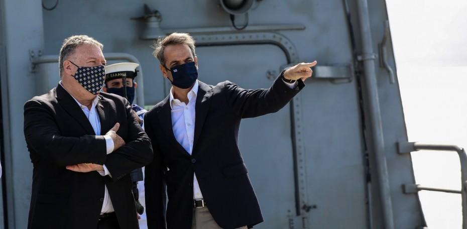 Κ. Μητσοτάκης από Σούδα: Ώρα για διπλωματία στην Αν. Μεσόγειο