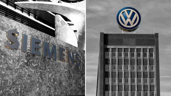 Volkswagen και Siemens ενώνουν τις δυνάμεις τους για τη Μόρια