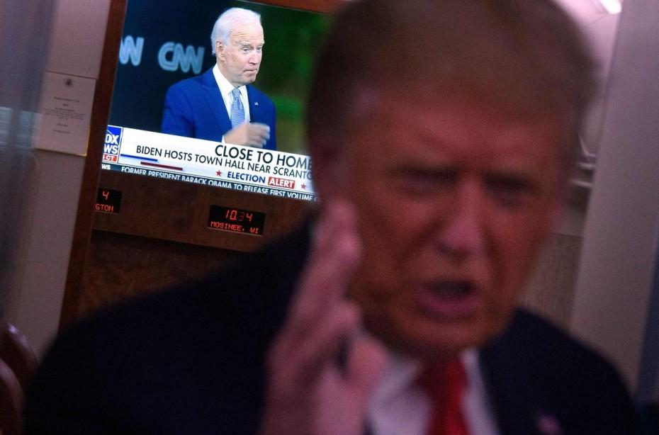 Νευρικότητα στη Wall Street, πριν το πρώτο debate Τραμπ - Μπάιντεν