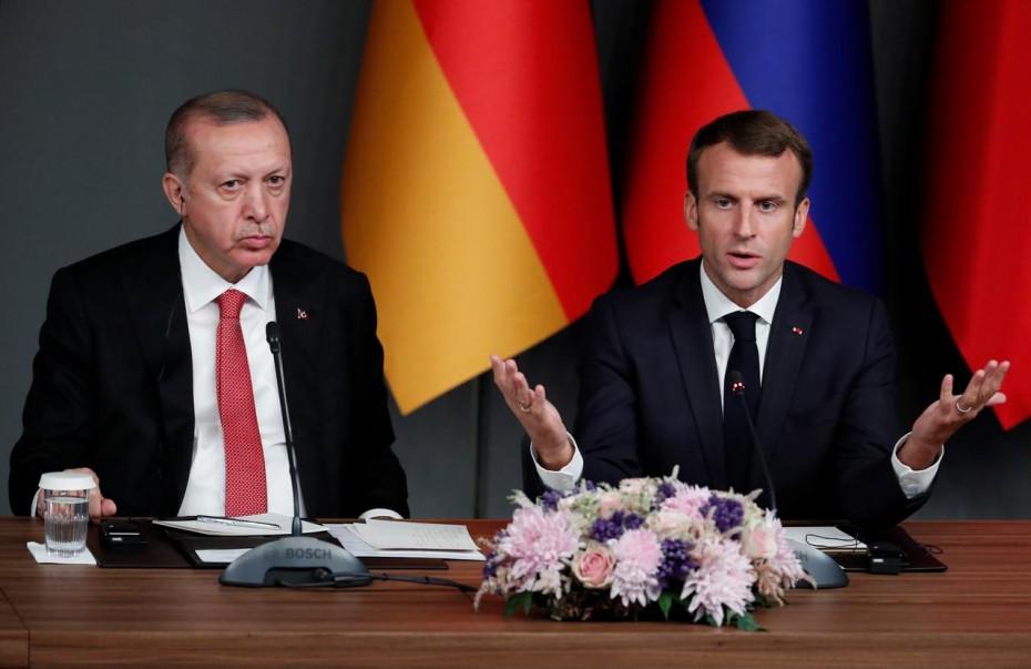 Νέα επίθεση Ερντογάν σε Μακρόν για την «ανασύνταξη» του γαλλικού Ισλάμ