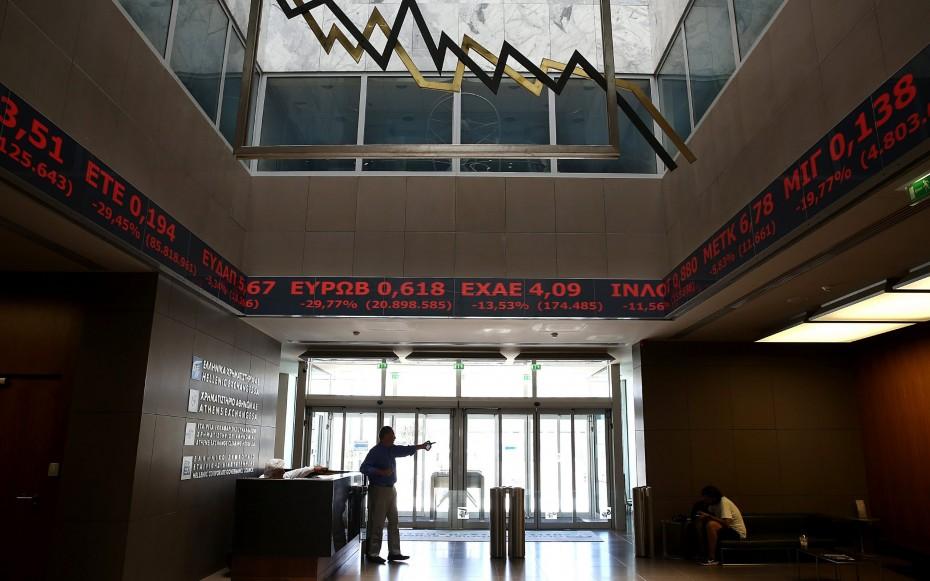 Κορονοϊός και τράπεζες έριξαν το ΧΑ από τις 600 μονάδες