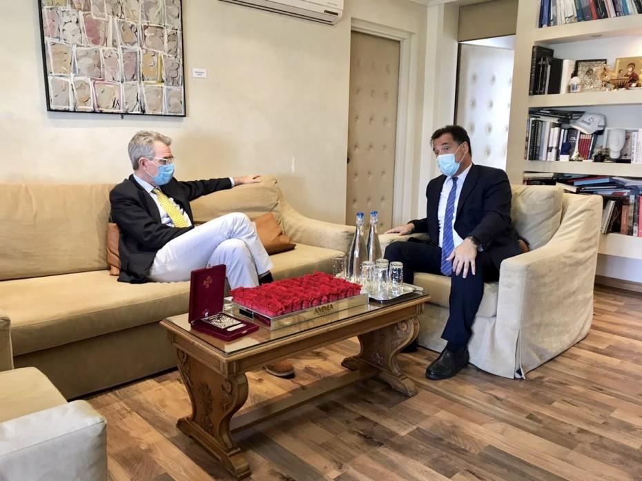 Νέα συνάντηση Πάιατ με Γεωργιάδη για αμερικανικές επενδύσεις στην Ελλάδα