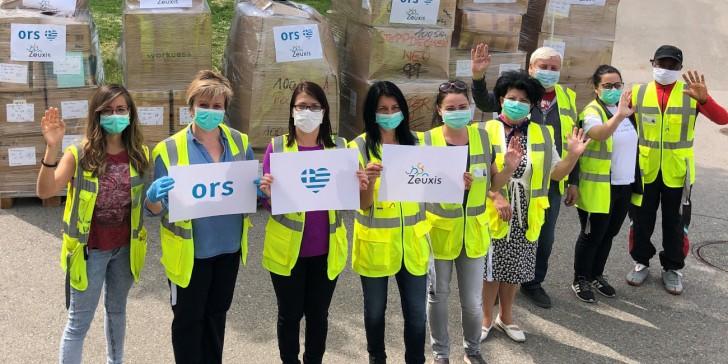 Όμιλος ORS: Δωρεά Ενδυμάτων για τις γυναίκες πρόσφυγες στην Ελλάδα