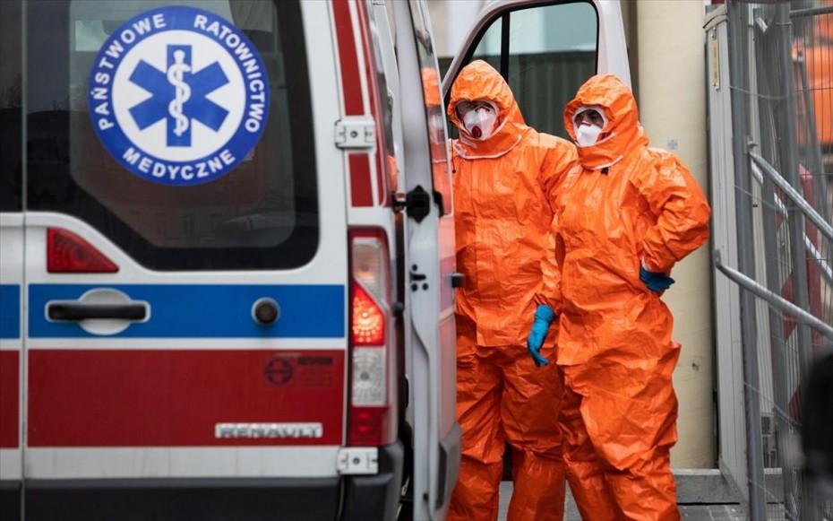 Covid-19: Έκρηξη κρουσμάτων στην Πολωνία