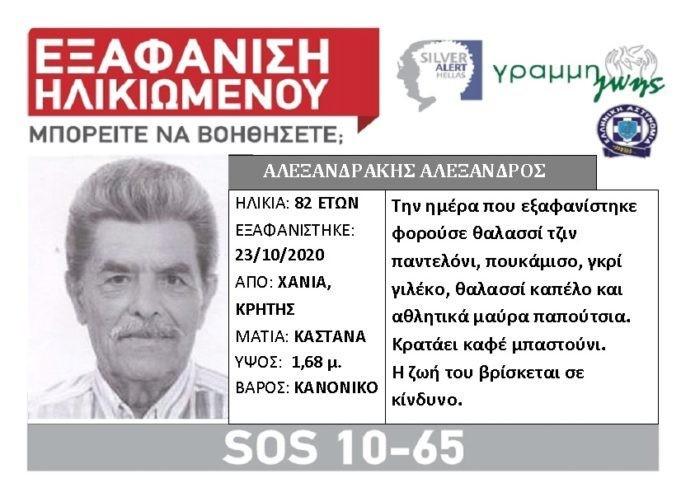Έγκλημα στα Χανιά: Σε βαλίτσα πτώμα 82χρονου που αναζητούσε η ΕΛΑΣ