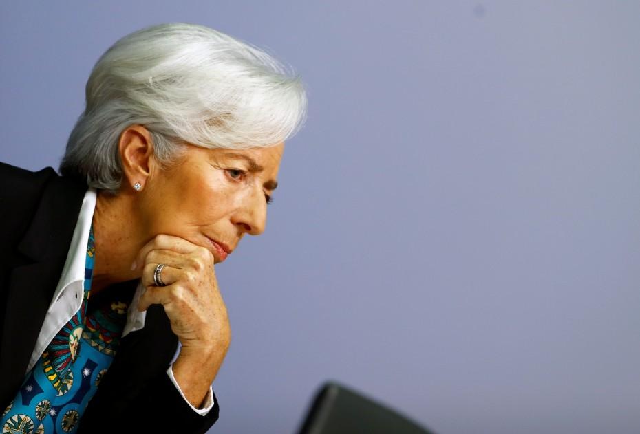 Ανήσυχη η Λαγκάρντ για την οικονομία της Ευρωζώνης - Προς νέα μέτρα στήριξης το Δεκέμβριο