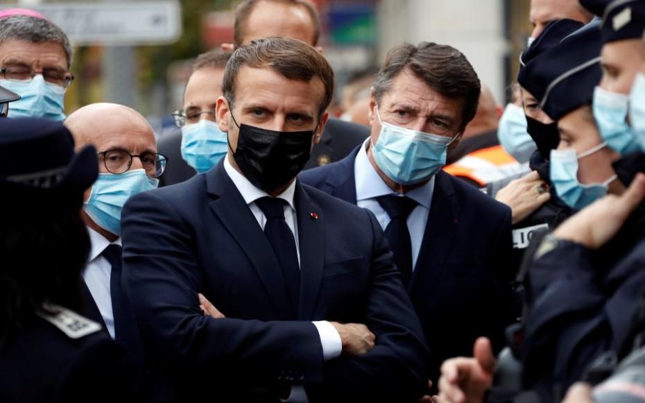 Η Γαλλία δέχεται επίθεση, το μήνυμα Μακρόν μετά το τρομοκρατικό χτύπημα στη Νίκαια