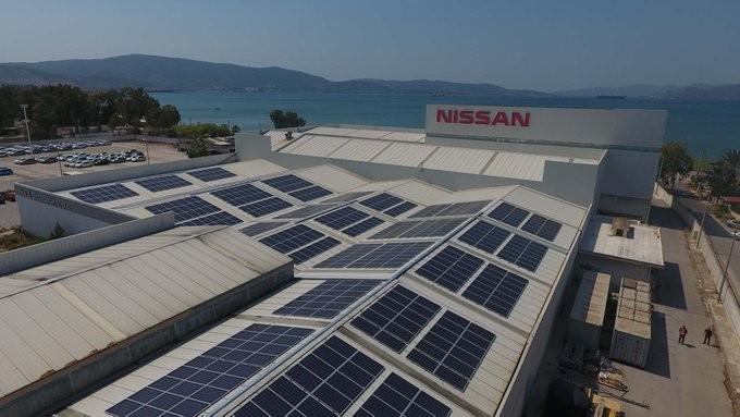 Ολοκληρώθηκε το φωτοβολταϊκό συγκρότημα της Nissan στον Ασπρόπυργο