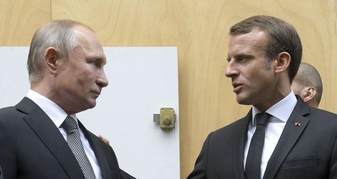 Επικοινωνία Πούτιν με Μακρόν για το Ναγκόρνο Καραμπάχ