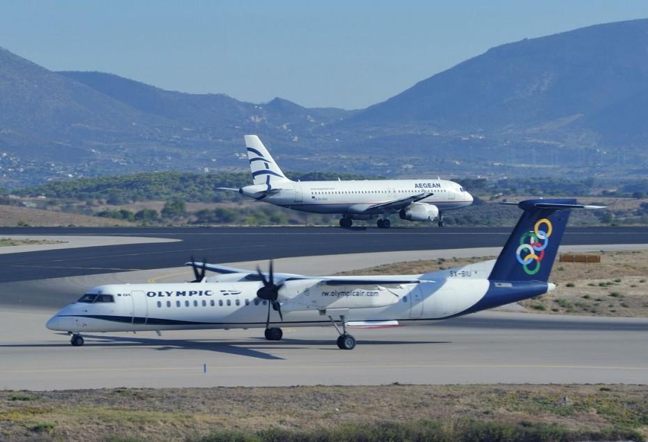 Αναλυτικά οι αλλαγές στις πτήσεις Aegean και Olympic Air