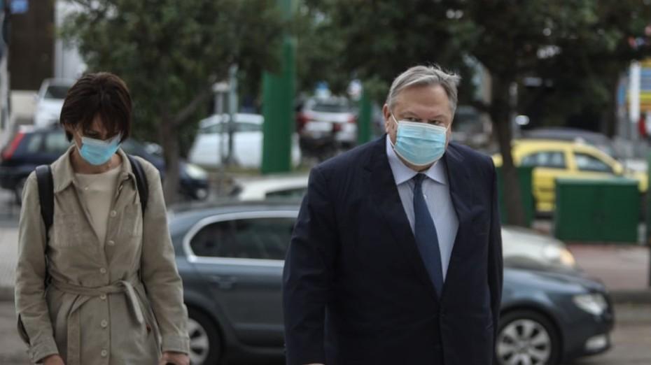 Κατάθεση Βενιζέλου στην ανακρίτρια για την υπόθεση Novartis