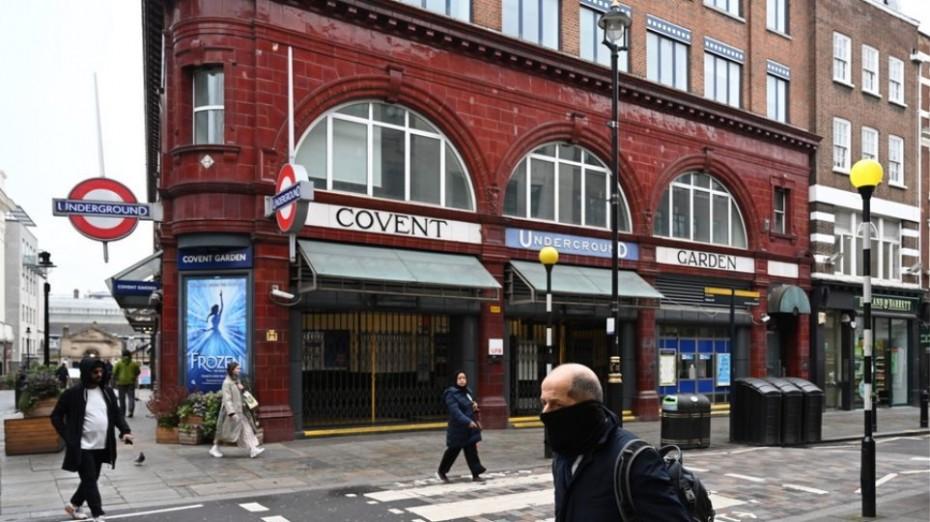 Σταδιακά άρση του lockdown στη Βρετανία από τις 2 Δεκεμβρίου