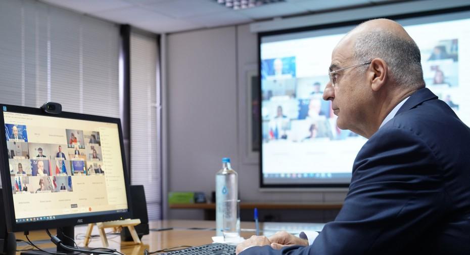 Προειδοποιήσεις του Δένδια στην ΕΕ για τις προκλήσεις της Τουρκίας