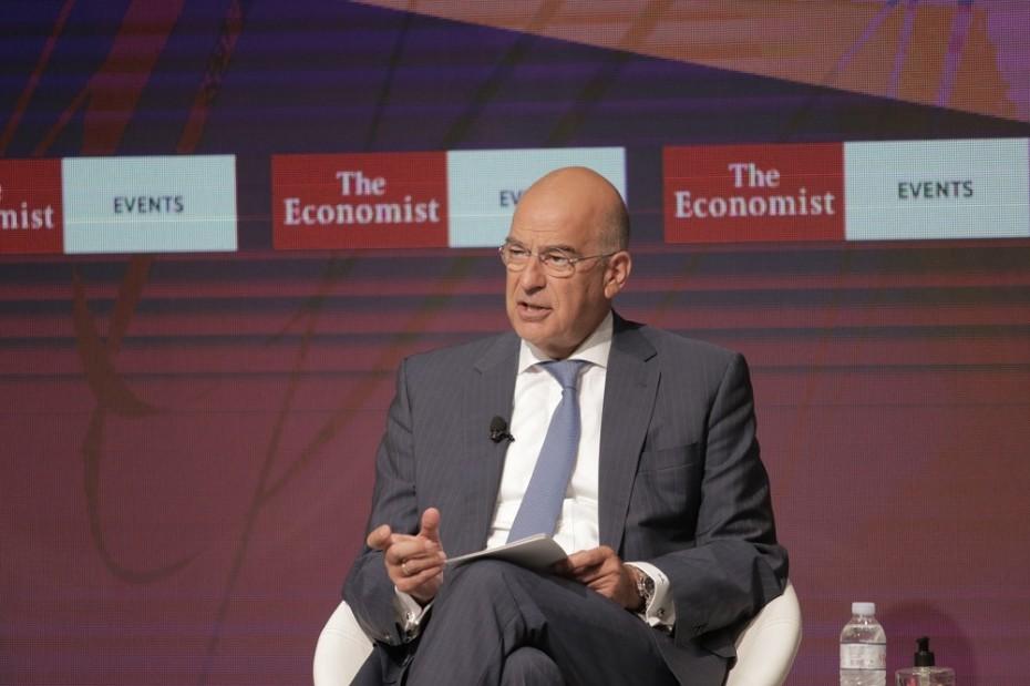 Συμμετοχή Δένδια στο συνέδριο του Economist στην Κύπρο