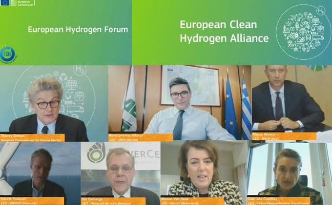 Η ΔΕΠΑ προωθεί την τεχνολογία για τηλεθέρμανση με υδρογόνο