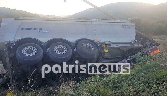 Γιαννιτσοχώρι: Νεκρός σε τροχαίο 24χρονος οδηγός νταλίκας