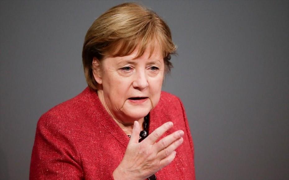 Α. Μέρκελ: Η ΕΕ θα συζητήσει τις εξαγωγές όπλων στην Τουρκία με το ΝΑΤΟ και τις ΗΠΑ