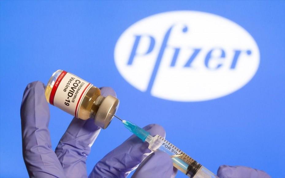 «Πράσινο φως» στο εμβόλιο της Pfizer από τον Ευρωπαϊκό Οργανισμό Φαρμάκων
