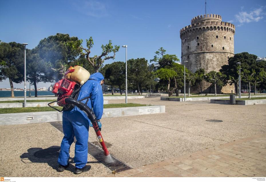 «Πάγωσε» η μείωση του ιικού φορτίου στα λύματα της Θεσσαλονίκης