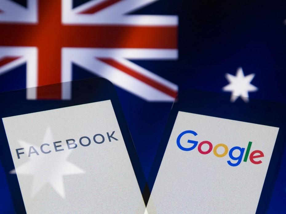 Η Αυστραλία υποχρεώνει Facebook και Google να πληρώνουν τα ΜΜΕ για το περιοχόμενο τους