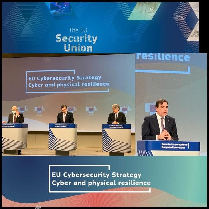 Παρουσίαση της νέας στρατηγικής της ΕΕ για την ασφάλεια στον κυβερνοχώρο