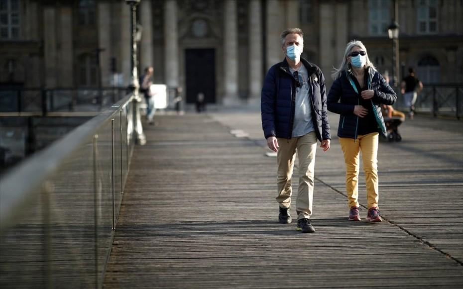 Τρίτη ημέρα με κάτω από 10.000 κρούσματα στη Γαλλία