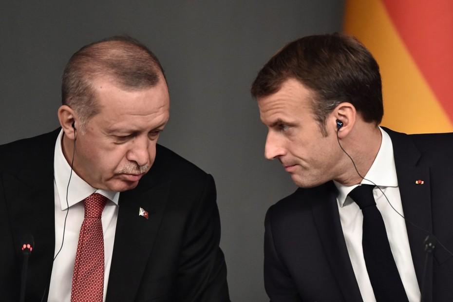 Απάντηση Μακρόν σε δηλώσεις Ερντογάν: «Σεβασμό» ζητά ο Γάλλος πρόεδρος