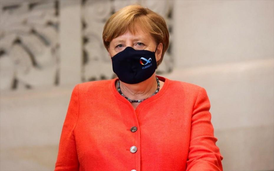 Κλειστά χαρτιά από Μέρκελ για τις κυρώσεις κατά Τουρκίας