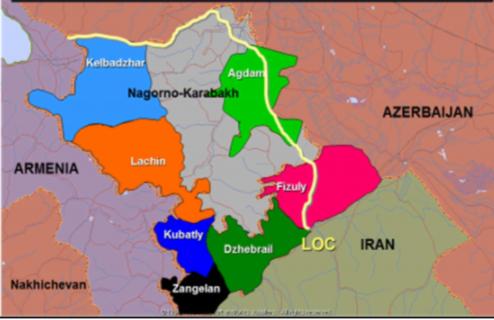 Διαμάχη Αζερμπαϊτζάν και Αρμενίας στο Ναγκόρνο Καραμπάχ: Εδαφική Ακεραιότητα - Αυτοδιάθεση