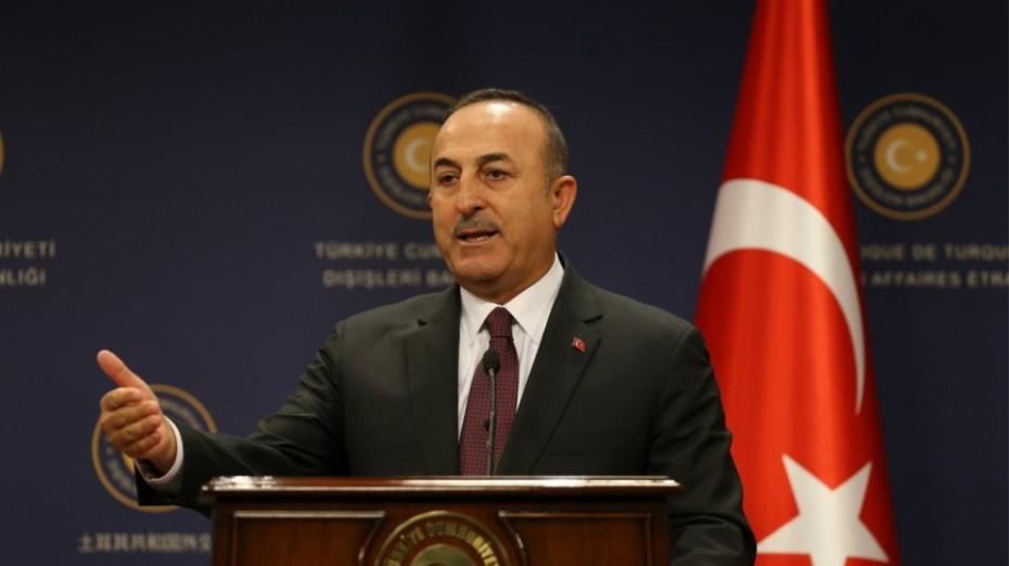 Η Ελλάδα παραβίασε την τουρκική υφαλοκρηπίδα, λέει ο Τσαβούσογλου
